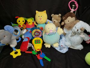 Large lot of baby toys for Sale in Zanesville, OH