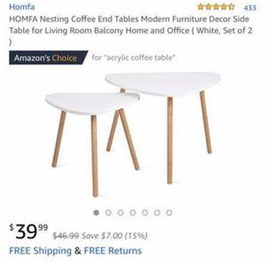 Homfa coffee tables! for Sale in Ventura, CA