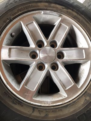 """17"""" GMC stocks with tires for Sale in Dinuba, CA"""
