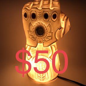 Disney Marvel Avengers Thanos Infinity Gauntlet PVC (Piggy) Bank / Night Light Lamp for Sale in San Jose, CA