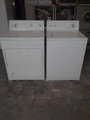 washer and dryer gas Kenmore good condition 90 days warranty labadora y secadora gas Kenmore buenas condiciones 90 dias de garantia for Sale in San Leandro, CA