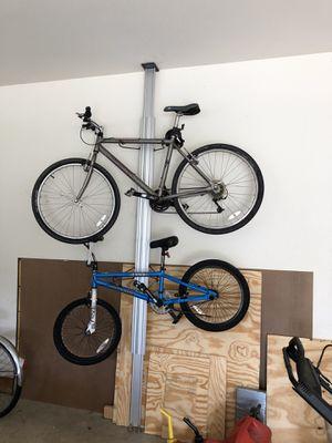 Bike rack for garage for Sale in Edwardsville, IL