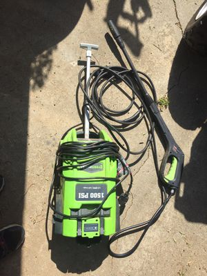 High pressure water washer 1500 psi for Sale in San Diego, CA