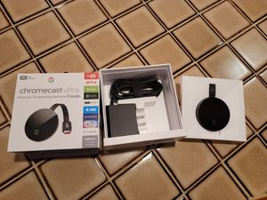 Chromecast Ultra for Sale in Chicago, IL
