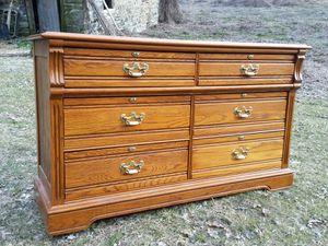 Oak double dresser by Lexington for Sale in Stewartsville, NJ