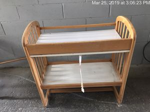 Baby changing table for Sale in Bristol, CT