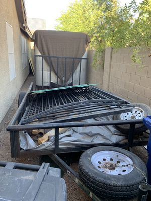 Great Timber Utility Trailer for Sale in Chandler, AZ