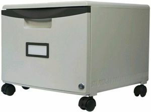"Storex 18"" Mobile Filing Cabinet - 18.3"" X 12.8"" X 14.8"" - Polypropylene - 1 X for Sale in Orlando, FL"