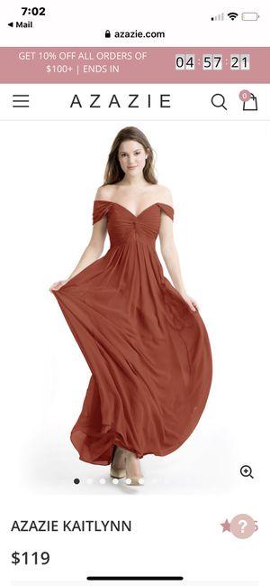 Bridesmaid Dress Rust for Sale in Irvine, CA