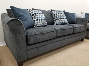 NEW! Lane 6485 Sofa in Albany Slate or Chestnut (Accent Chair, Ottoman and Storage Ottoman Available) for Sale in Clayton, NC