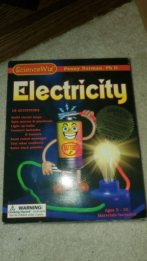 Children's Electricity Activity Set for Sale in Woodinville, WA