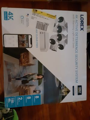 Lorax 4k deterrence security system for Sale in Durham, NC