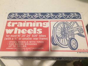 Byke training wheels -adult & kids for Sale in Miami, FL