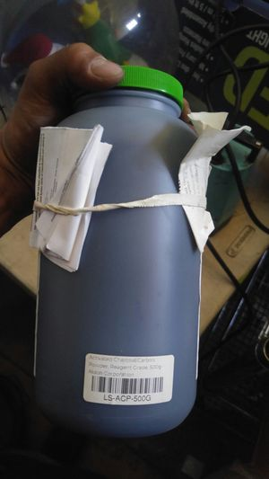 Laboratory grade activated charcoal 500g for Sale in Los Angeles, CA