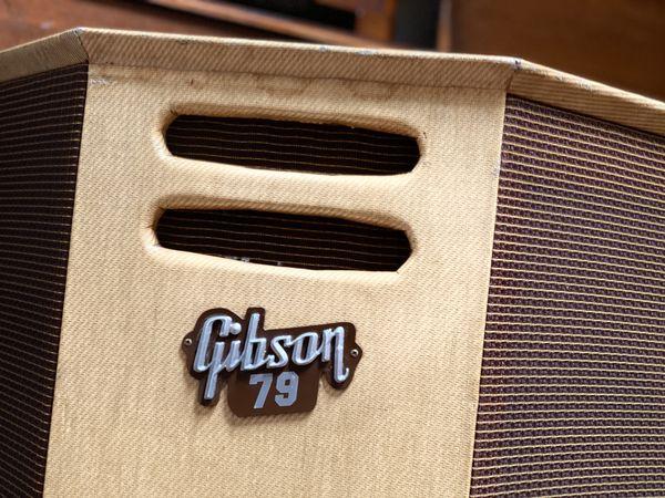 1960 Gibson Ga-79 guitar amplifier