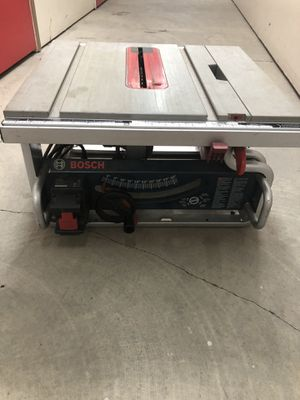 Bosh table saw for Sale in San Leandro, CA