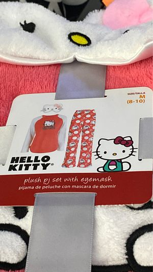 Plush PJ set with eye mask for Sale in Tolleson, AZ