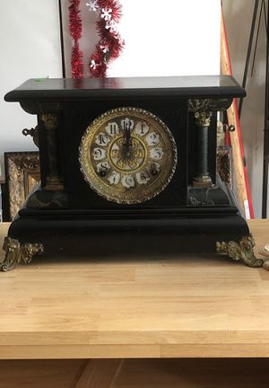 Antique clock - not working. 1903 inscribed on back, Plymouth Michigan for Sale in Hillsboro, OR