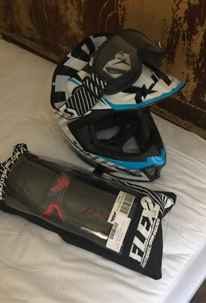 HJC Helmet, googles, knee pads for Sale in Laytonsville, MD