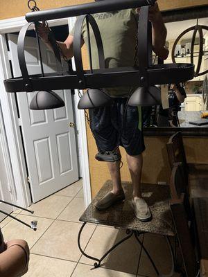 Chandelier light for Sale in Roman Forest, TX