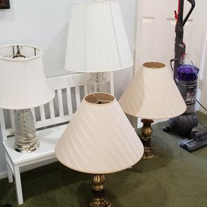 Table Lamps $20 For ALL for Sale in San Clemente, CA