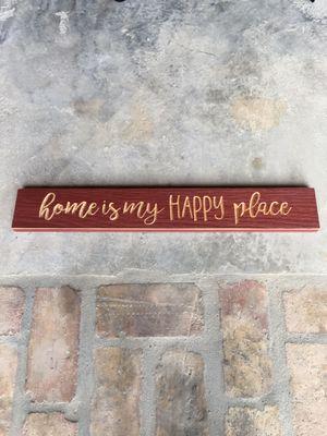 Home Sign - happy place - Home decor for Sale in Miami, FL