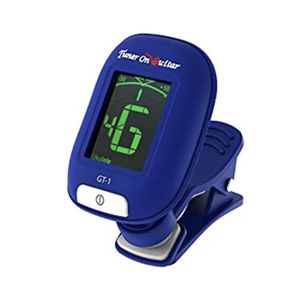 Tuner On Guitar - Clip-On Tuner for All Instruments, Guitar, Ukulele, Bass, Violin, Chromatic Tuning for Sale in Chino Hills, CA