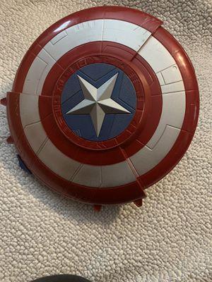 Captain America Transforming Nerf Shield Blaster for Sale in Houston, TX