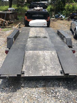 16' 7k open deck car trailer for Sale in Harrisburg, PA