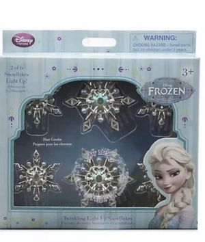 Disney Frozen Twinkling Light-Up Snowflakes Hair Combs 6pc for Sale in La Verne, CA