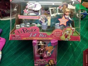 Unopened Lil Bratz Lil Bus + Extra Unopened Lil Bratz Doll for Sale in Roseville, CA