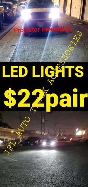 Auto Led Headlight Led lights Low Beam High Beam, Fogs Lights Daytime Running Luces Led pairs H1 H4 H7 h9 H11 H13 9005 9006 90074 9004 880 5202 for Sale in Santa Ana, CA