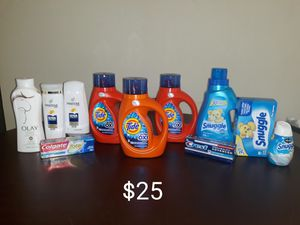 $25 Tide Household/Personal Care Bundle for Sale in Lake Mary, FL