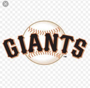 sf giants tickets for Sale in Ceres, CA