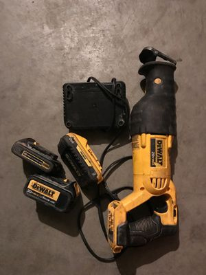 20V 3 battery's and A charger and saw Zaw for Sale in Bakersfield, CA