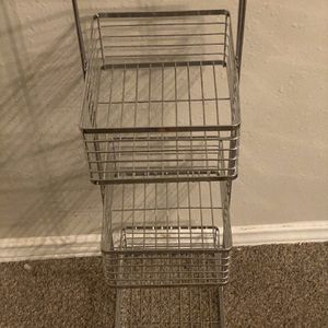 Metal Storage/ Caddy for Sale in Houston, TX