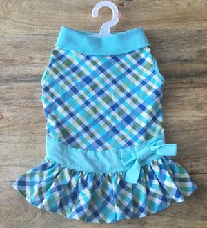 NWT Plaid Tennis Dog Dress for Sale in Tysons, VA