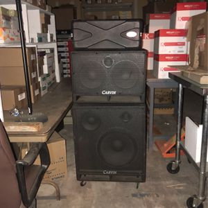 Bass Amp And Speakers for Sale in Ramona, CA