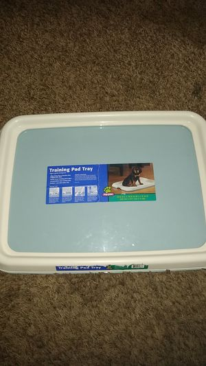 Training pad tray for puppies for Sale in Stockton, CA
