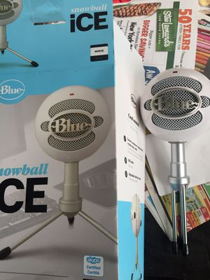 Snowball ice mic blue for Sale in Norwalk, CT