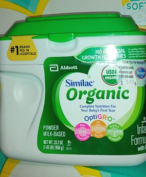 Similac organic/23.2oz for Sale in Los Angeles, CA