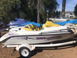 96 seadoo speedster boat twin rotax motors for Sale in El Cajon, CA