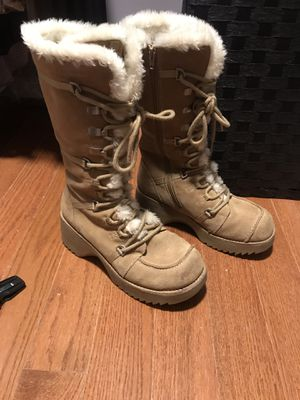 Womens military style knee high winter boots for Sale in Lorton, VA