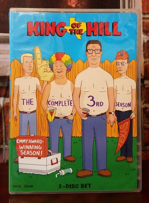 King of the Hill Season 3 Animated DVD Comedy Set 3 Discs 25 Episodes for Sale in Tampa, FL