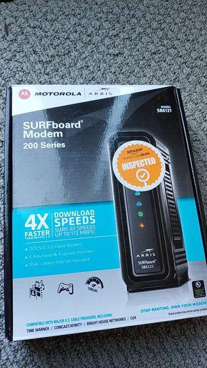 Cable modem surfboard sb6121 Motorola arris for Sale in Irvine, CA