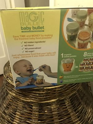 Baby items! Minnie MouseWalker ! New Magic Bullet! Pamper disposal with new pack freshener & 2 new packs of baggies for Sale in La Puente, CA