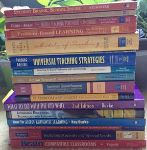 Educator's Professional Resource Book Lot for Sale in Apex, NC