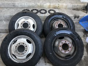 """Chevy Dually Wheels 16.5"""" for Sale in Los Angeles, CA"""