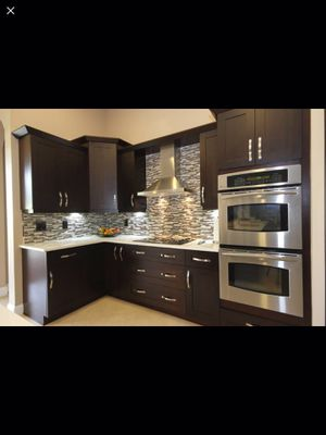 Complete kitchen cabinets with granite countertops for Sale in Quincy, MA