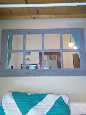 """Wooden Framed Mirror 22""""x38"""" for Sale in Portland, OR"""
